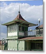 Corner Detail Of The Pavilion - Ryde Metal Print