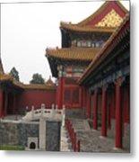 Corner Of The Forbidden City Metal Print