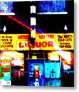 Corner Store Metal Print