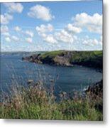 Cornwall Coast 4 Metal Print