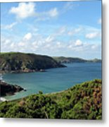 Cornwall Coast II Metal Print
