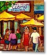 Cosmos  Fameux Restaurant On Sherbrooke Metal Print