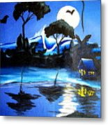 Costarica Nightlife Metal Print