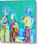 Council Of Elders Metal Print