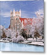 Country Club Christian Church Metal Print by Steve Karol