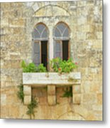 Coupled Windows Metal Print