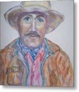 Cowboy Jim Metal Print