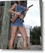 Cowgirl 022 Metal Print