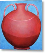 Crack Pot Metal Print