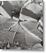 Cracked Up Metal Print