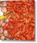 Crawfish Boil Metal Print