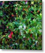Crazyquilt Garden Metal Print