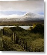 Croagh Patrick, County Mayo, Ireland Metal Print