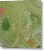 Crop Circles Yellow Analog 2 Metal Print