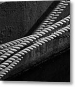 Crossed Ropes Metal Print