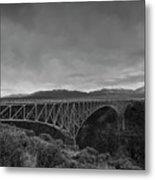 Crossing The Rio Grande Metal Print