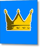 Crown Graphic Design Metal Print by Pixel Chimp