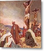 Crucifixion Metal Print by William Brassey Hole
