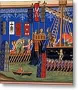 Crusades 14th Century Metal Print