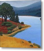 Crystal Springs Metal Print