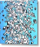 Cubic Separation Metal Print
