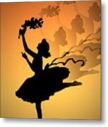 Curtain Call Metal Print