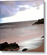 Curve Of The Horizon Metal Print