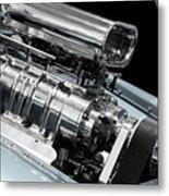 Custom Racing Car Engine Metal Print