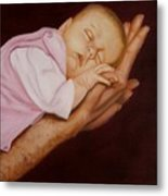 Daddy's Little Girl Metal Print