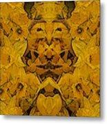 Daffy Daffodils Metal Print