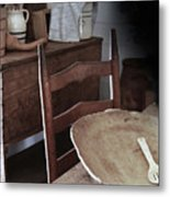 Daily Bread Metal Print