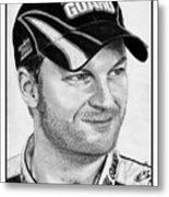 Dale Earnhardt Jr In 2009 Metal Print