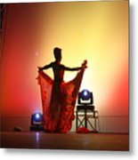 Dancer In The Shadows Metal Print