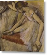 Dancers In Repose Metal Print by Edgar Degas