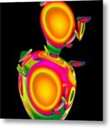 Dancing Egg Ant Metal Print