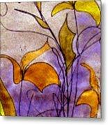 Dancing Flora Metal Print