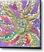 Dancing Flower Blossom Metal Print
