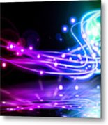 Dancing Lights Metal Print