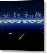 Dancing With The Stars 2 Metal Print