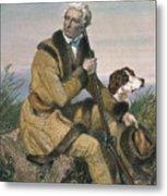Daniel Boone (1734-1820) Metal Print