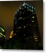 Dark Atlanta Metal Print