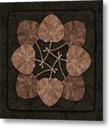 Dark Leaves Metal Print
