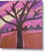 Dark Tree Metal Print