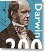 Darwin 200 Metal Print