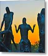 Dawn At Last Metal Print