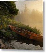 Dawn On Boot Lake Metal Print