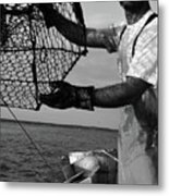 Day On The Water Metal Print