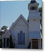 Daytona Church Metal Print by Kim Zwick