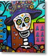 Dead And The City Metal Print