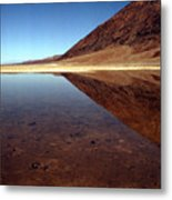 Death Valley Lake Metal Print